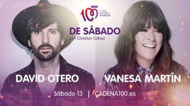 David Otero y Vanesa Martín son los invitados estrella en 'De Sábado con Christian Gálvez'