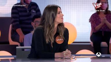 Laura Matamoros aprovecha su paso por 'Pasapalabra' para pedirle trabajo a este famoso presentador
