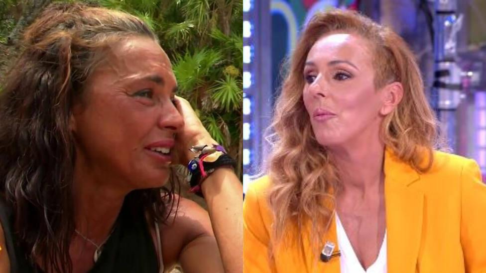 El zasca de Rocío Carrasco a Olga Moreno cuando le preguntan si debe ganar  'Supervivientes' - Televisión - CADENA 100