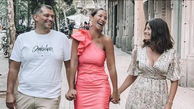 """Tamara Gorro junto a los padres de su """"princesa"""", inmersa en una recaída en su cáncer"""