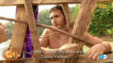 Omar Montes escucha la opinión de Isabel Pantoja