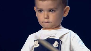 Épico en 'Got talent': un artista de 2 años conmociona el plató en su estreno