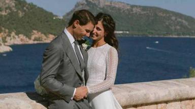 Rafa Nadal y Xisca Perelló ya son marido y mujer y estas son las primeras fotos oficiales de su boda