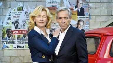 Imanol Arias y Ana Duato como Antonio y Merche en 'Cuéntame'