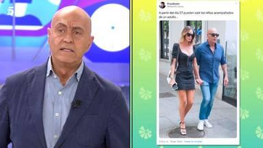 Kiko Matamoros estalla en Sálvame para defender a su novia Marta López