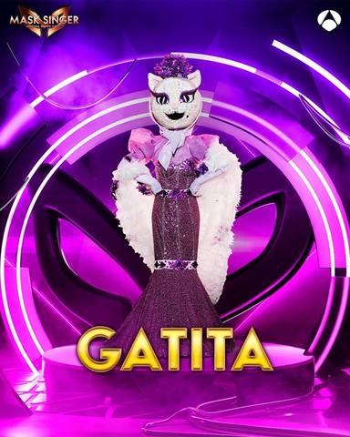 Gatita, una de las máscaras de Mask Singer 2