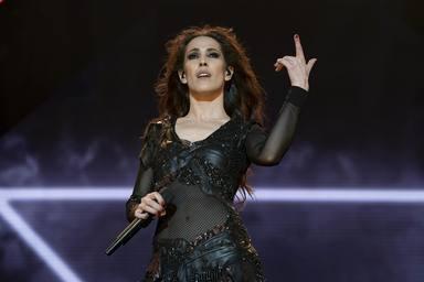 Malú durante uno de sus últimos conciertos en Madrid