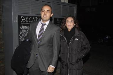 Rocío Carrasco junto a Fidel Albiac