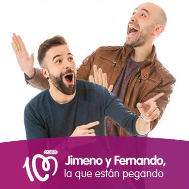 Jimeno y Fernando... ¡la que están pegando!