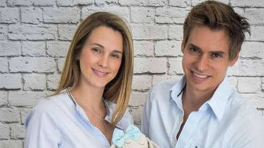 Carlos Baute y Astrid Klisans desvelan el sexo y el nombre de su tercer bebé