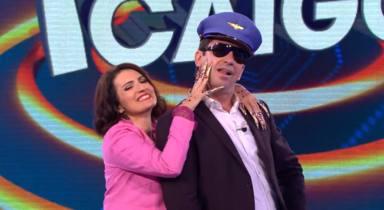 Arturo Valls y Silvia Abril parodian a Rosalía y J Balvin en 'Ahora caigo'