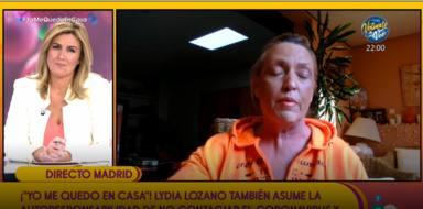 Sálvame: Lydia Lozano aislada en su casa por posible coronavirus