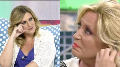 Sálvame: Carlota Corredera y Lydia Lozano se emocionan