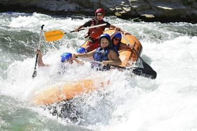 Rafting por el Río Guadalquivir