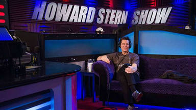 Jim Carrey en el programa de Howard Stern