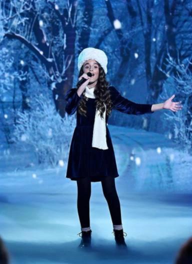 Natalia y su actuación de Anastasia