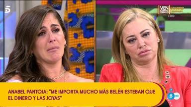 Tenso encontronazo entre Anabel Pantoja y Belén Esteban