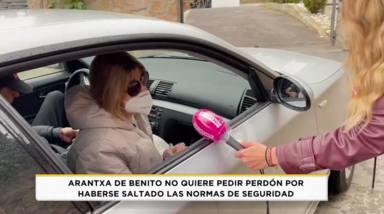Arantxa de Benito rompe su silencio tras saltarse las normas sanitarias: Lo hago todos los días
