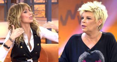 """Emma García, muy irritada, para el programa y estalla contra Terelu Campos en directo: """"Me da verdadera pena"""""""
