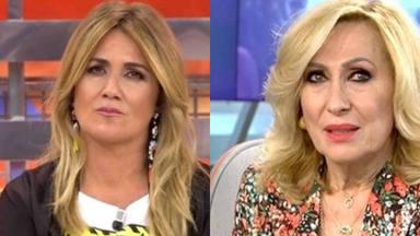 La reacción de Carlota Corredera ante unos comentarios muy sorprendentes de Rosa Benito