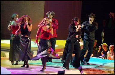 Motivo giro Geno en Eurovisión