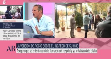 """Joaquín Prat, tajante, pone en cuestión la versión de Rocío Carrasco y su trastorno depresivo: """"No te impide"""""""