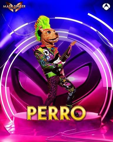 Perro, una de las máscaras de Mask Singer 2