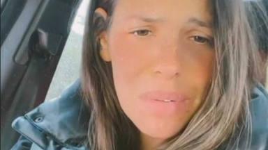 Laura Matamoros en el penúltimo mes de embarazo