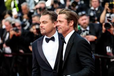Leondardo DiCaprio y Brad Pitt