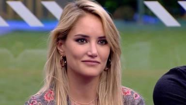 Alba Carrillo, entre lágrimas y confusión, al ver la imagen en 'GH VIP' de Feliciano López el día de su boda
