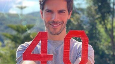 Marc Clotet cumple 40 años a punto de ser padre de su segundo hijo con Natalia Sánchez
