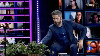 Bailando salsa y con guiño a 'Pasapalabra': así fue el regreso de Roberto Leal a 'Operación Triunfo'