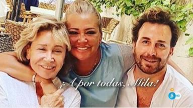 El mensaje de apoyo de María Patiño a Mila Ximénez