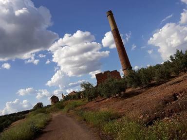 Sendero minero en Linares