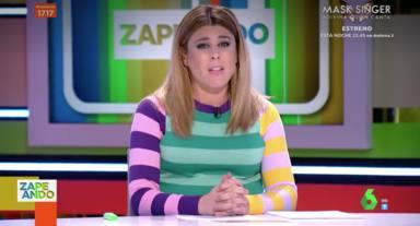 Valeria Ros trae al nuevo miembro de Zapeando