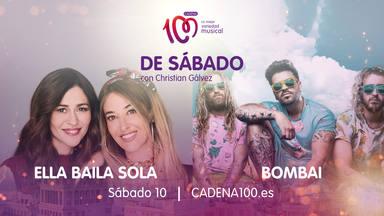 Ella Baila Sola y Bombai son los invitados de lujo en 'De Sábado con Christian Gálvez'