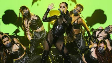 Becky G reconoce su satisfacción por haber participado en 'Ellas y su Música' de los Latin Grammy