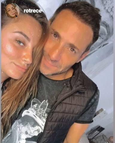 Antonio David Flores junto a su hija Rocío en una foto de las redes sociales