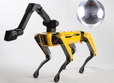 ¡No te enfrentes a este robot en la pista de baile!