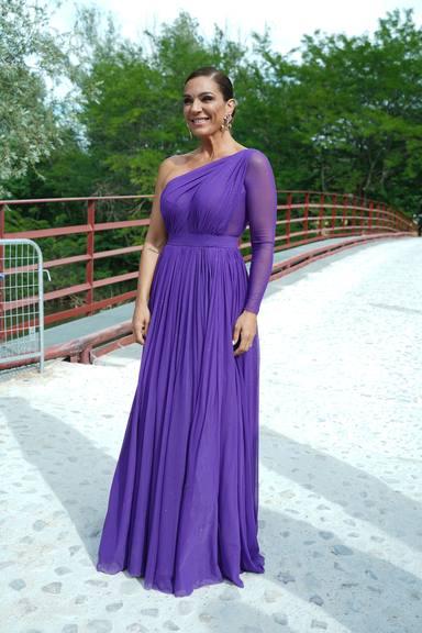 Raquel Bollo en la boda de Belén Esteban