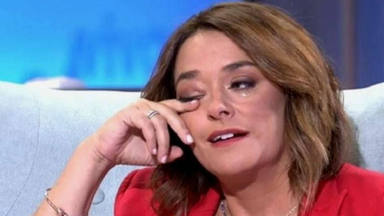 Toñi Moreno llora
