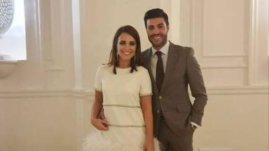 Paula Echevarría posa por primera vez junto a Miguel Torres, ¡gracias a Antonio Banderas!