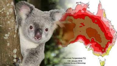 Calor extrema i rècords de temperatura a Austràlia