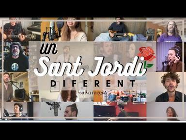 """Una vintena d'artistes uneixen el seu talent en el tema """" Un Sant Jordi diferent"""""""