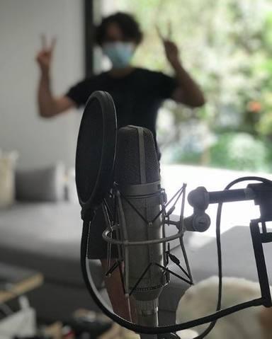 Malú sigue componiendo a pesar de estar en la recta final de su embarazo