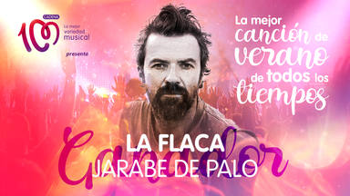 'La flaca', flamante ganadora de 'La mejor canción del verano de todos los tiempos'