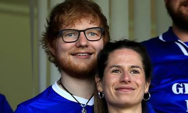 Aquest és l'extrany nom de la nova filla d'Ed Sheeran