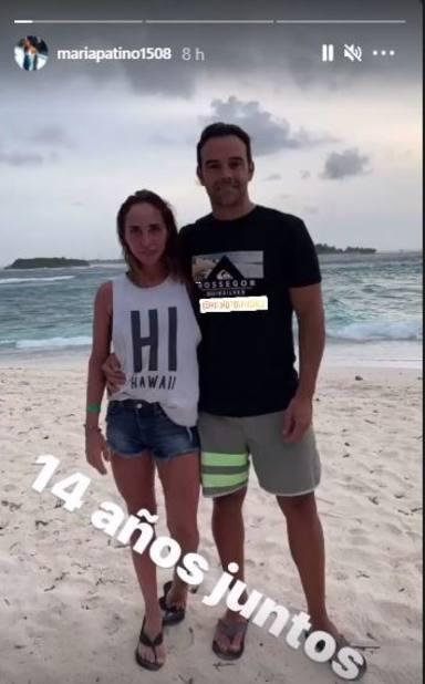 María Patiño y su marido Ricardo 14 años de amor