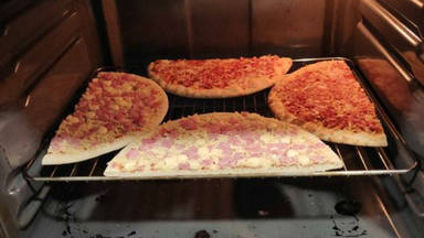El truco perfecto de pizza