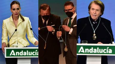 Emocionante gala Medallas de Andalucía 2021 en plena pandemia